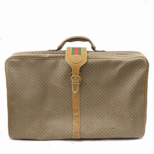 Gucci Micro GG Sherry Web Luggage Suitcase 871001